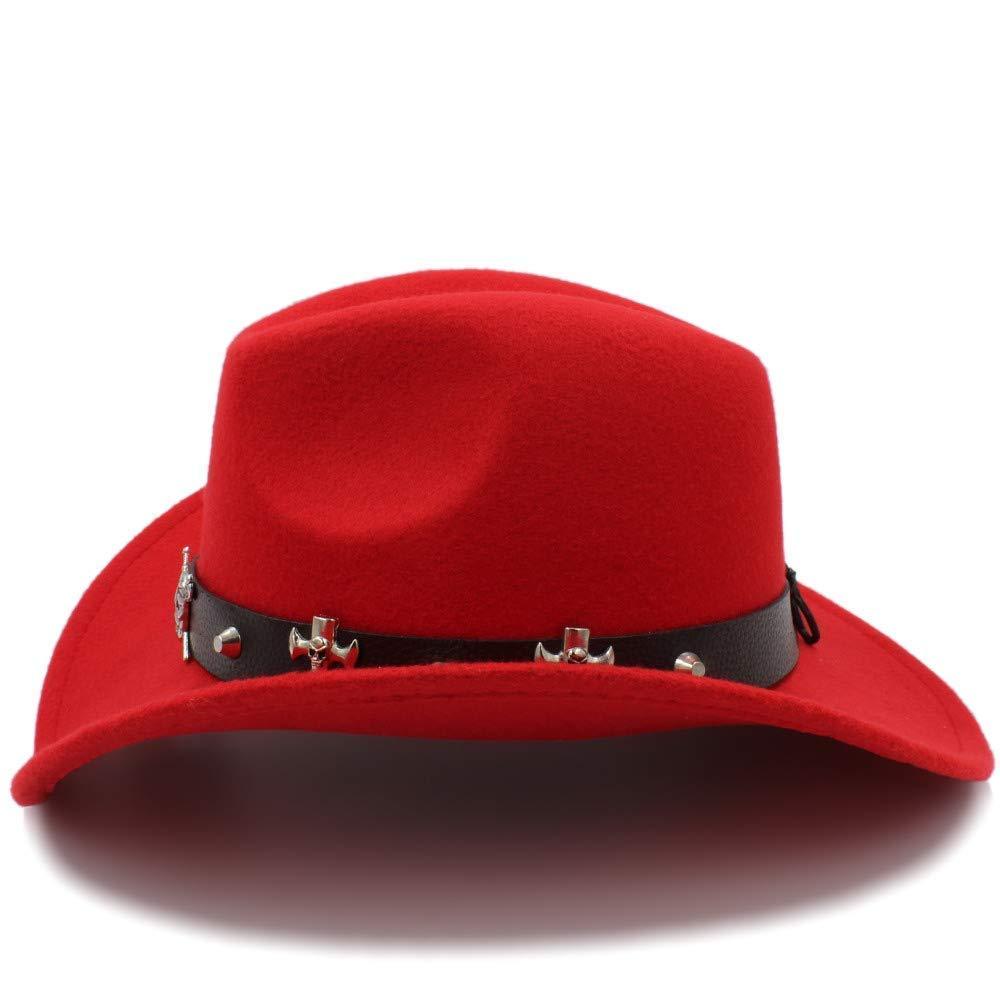 KeavyLee Zarte Mütze Unisex-Warmer Fedora-Hut-Reiter-Kappe bequemer Hut zerquetschbarer Wollfilz-Western-Cowboy-beiläufiger Hut Perfekt für das tägliche Tragen