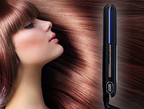Hair Straightening Curling Iron
