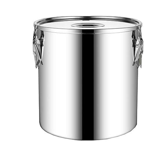Cubo De Sopa Cubeta De Acero Inoxidable Engrosada Cubo De ...