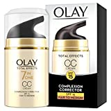Olay Total Effects 7-in-1 Anti-Ageing CC Cream Moisturiser with Niacinamide, Vitamin C and E,...