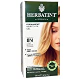 Herbatint, Permanent Haircolor Gel, 8N, Light Blonde, 4.56 fl oz (135 ml) - 2pc
