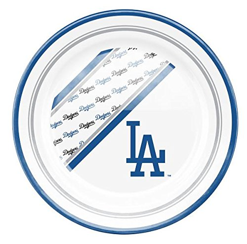 Los Angeles Dodgers Dinner Party Plates 10