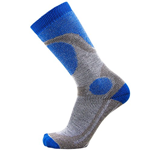 Pure Athlete Elite Ski Socks for Boys and Girls - Kids Merino Wool Youth Snowboard and Skiing Socks - Junior Warm Winter Sock
