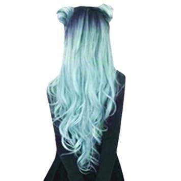 Naturelle Wig Femmes Perruque Cheveux Longues