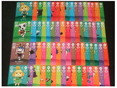 Amiibo Card Animal Crossing SP x All 67 Completed Japan