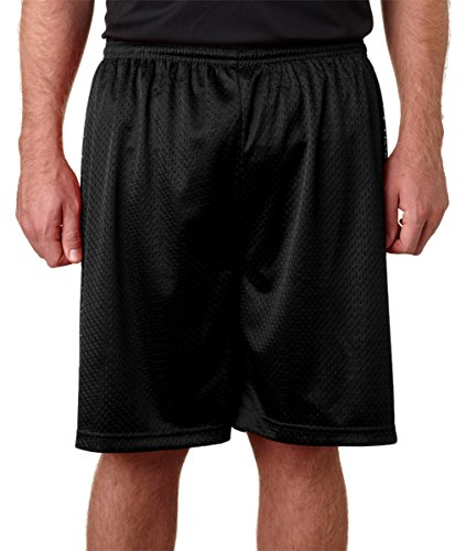 Badger Sportswear Adult Mesh/Tricot 7-Inch Short, XL, - Cotton Badger Shorts