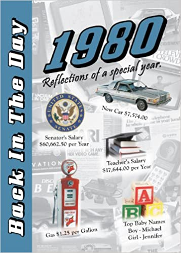 1980 Back In The Day 24 Page Greeting Card Booklet With Envelope 3 Oak Publishing 9781939380401 Amazon Com Books