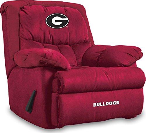 Imperial Officially Licensed NCAA Furniture: Home Team Microfiber Rocker Recliner, Georgia Bulldogs
