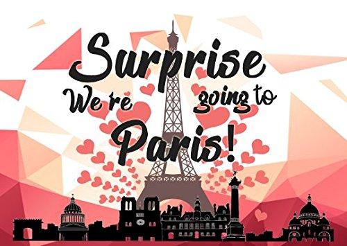 【国内即発送】 私たちはパリにパズル120 B07F1Z15BZ Piece結婚ハネムーン記念旅行パズル発表フランスヨーロッパ B07F1Z15BZ, 石川町:3fa280f5 --- 4x4.lt