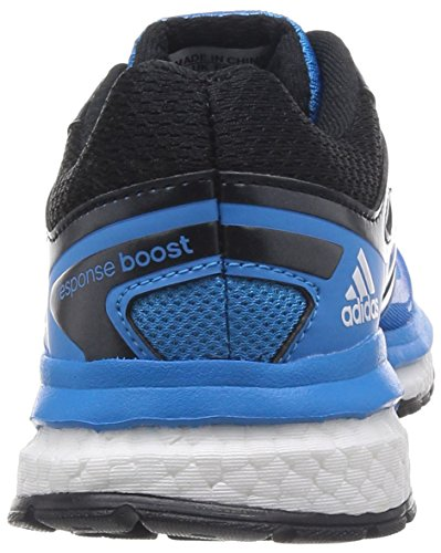 Adidas Response Boost TechFit Mesh Ortholite Running Nero, Blu