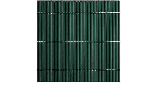 Canisse PVC, color verde, 1, 2 X 3 m, 15 m: Amazon.es: Jardín