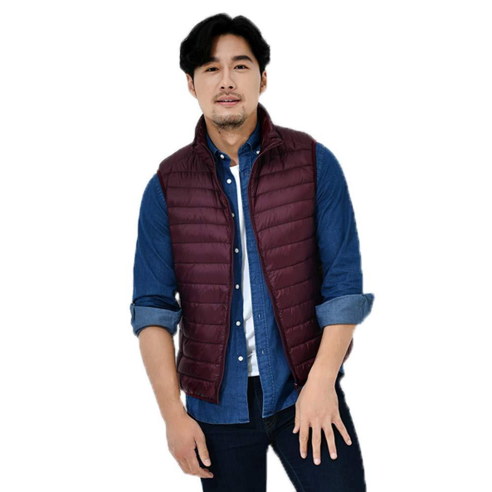Personalizadas Sudaderas Premium Mens Solid Down Vest Zipper ...