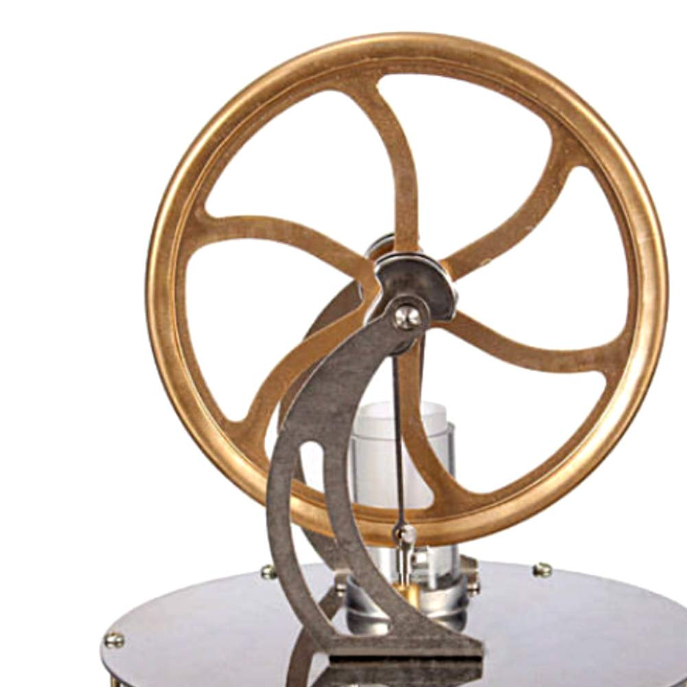 At27clekca Low Temperature Stirling Engine Model Steam Machine Science Educational Toy Electricity Generator by At27clekca (Image #5)