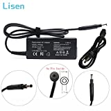 Lisen 19.5V 3.33A 65W AC Adapter Laptop Charger For HP Pavilion Touchsmart 14-B109WM 14-B017CL 14-C015DX 14-C050NR 15-B109WM 15-B119WM 15-B129WM 15-B153CL;P/N:677770-002 677770-003 power supply cord