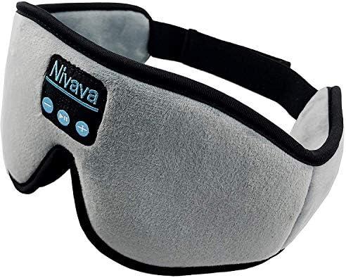 Nivava Headphones Bluetooth Adjustable Traveling product image