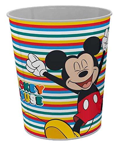 Star Licensing 50276 Disney Michey Cestino Gettacarte Multicolore 23.5 x 23.5 x 24 cm