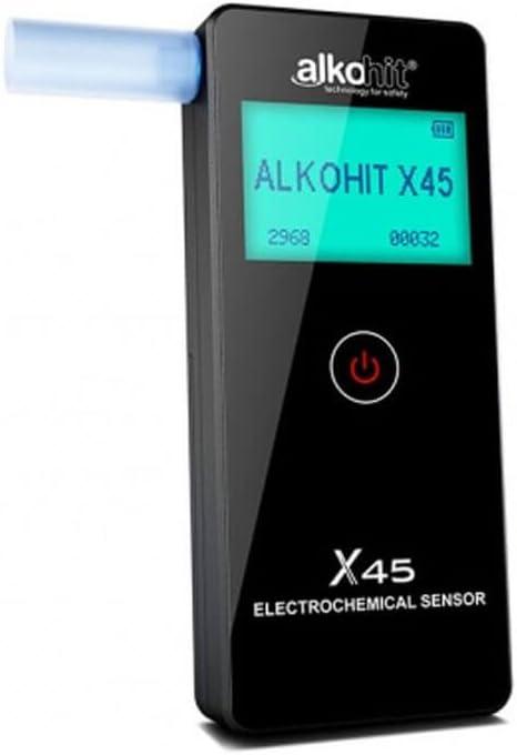 ALKOHIT Testsieger X45 Polizeilicher Alkomat f/ür kleine Firmen