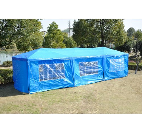 Aosom Outsunny Gazebo Canopy Party Tent with Removable Si...