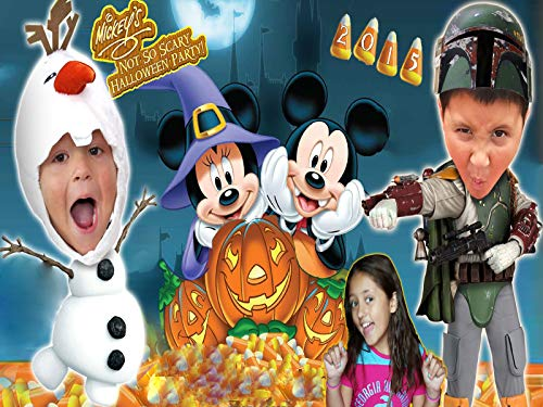 Trick Or Treating! Mickey's Not So Scary Halloween Party]()