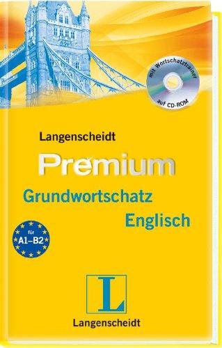 Langenscheidt Premium-Grundwortschatz Englisch - Buch mit CD-ROM