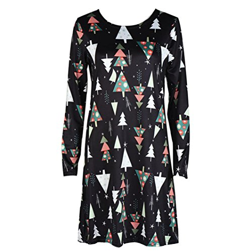 No Amlaiworld de vases de l de l l Manches dames Swing longues Robe de Multicolore Femme No No d'impression Robe Robes soire OnFxAT8
