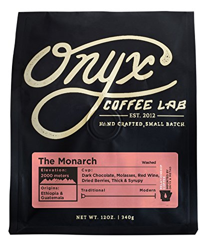 rch Espresso Blend, Medium Dark Roast, Whole Bean Coffee, 12 Ounce Bag (Onyx Lab)