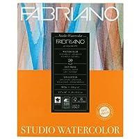 Fabriano Studio Watercolor Pad 11X14 HP 200G