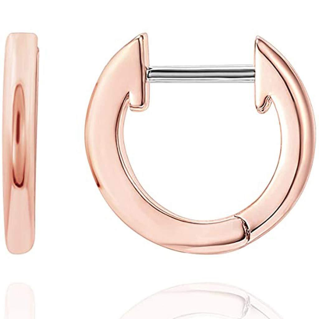 Earrings for Women Hoop Girls Ear Piercing Minimalist Cuff
