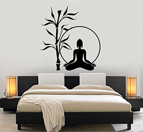 Wall Sticker Buddha Tree Relaxation Zen Meditation Vinyl Decal (z2915)