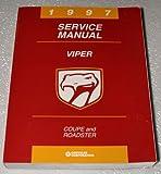 1997 Dodge Viper Coupe and Roadster Service Manual (Chrysler SR Platform)