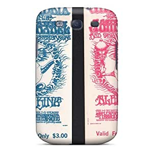 Shock Absorbent Cell-phone Hard Cover For Samsung Galaxy S3 (HNl12312ddoj) Unique Design Stylish Grateful Dead Skin