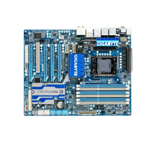 Gigabyte LGA1366/ Intel X58 SATA3 ATI CrossFireX ATX for sale  Delivered anywhere in USA