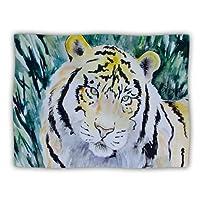 Kess InHouse Padgett Mason 'Tiger' Dog Blanket, 40 by 30-Inch