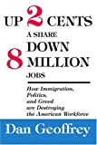 Up 2 Cents a Share down 8 Million Jobs, Dan Geoffrey, 0595327117