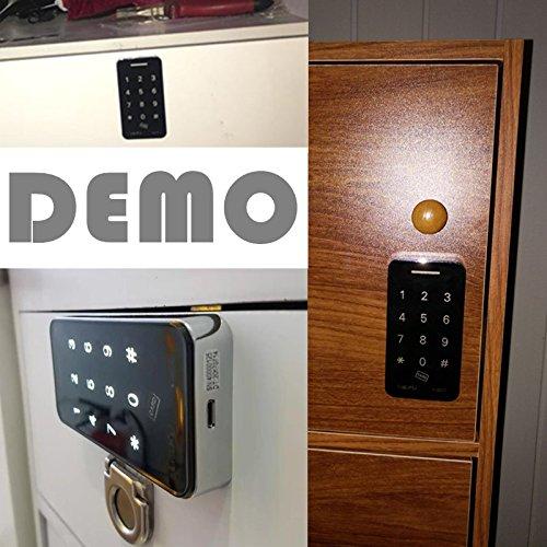 Touch Keypad Electronic Cabinet Lock with RFID Keys & 5V DC Power Port Backup by BestgoBest (Image #4)
