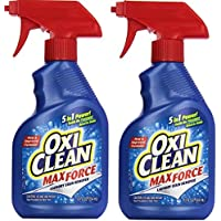 2-Pack OxiClean Max Force Laundry Stain Remover Spray, 12 Ounce