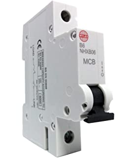NHXB10 10 Amp SP MCB Circuit Breaker WYLEX MCB Replaces NSB10 type