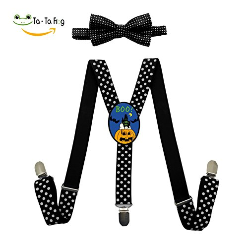 Ideas Costume Snoopy (Snoopy Vampire Pumpkin Halloween Fashion Kids Boys Girls Suspender Unisex Elastic Adjustable Suspender Y-Back)