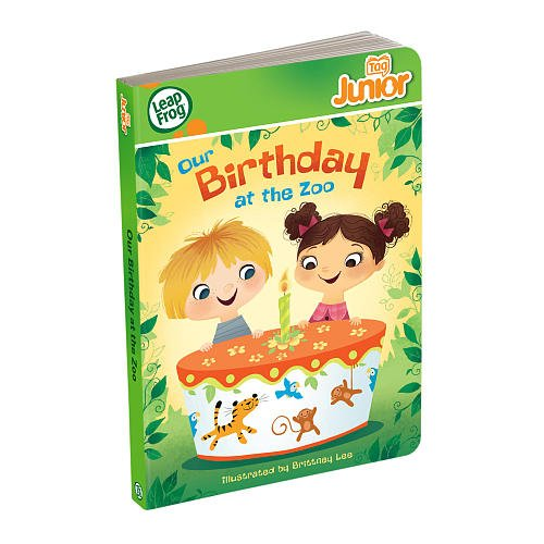 LeapFrog Tag Junior Book: Our Birthday at the Zoo (works with LeapReader Junior) (Tags Zoo)