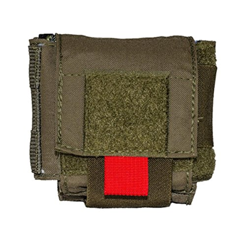 High Speed Gear 12O3D0OD On or Off Duty Medical Pouch Belt-Mount Olive Drab