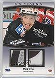 Mark Greig #25/169 (Hockey Card) 2006-07 City-Press DEL Playercards Deutsche Eishockey Liga - Capatins Materials #C 07