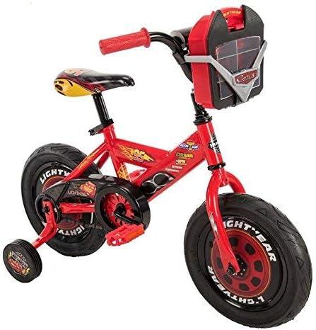 Wonders Shop USA My Lightning MC-Queen Pixar Cars Bicicleta de 12 Pulgadas con Ruedas de Entrenamiento: Amazon.es: Deportes y aire libre
