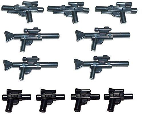 Lego Star Wars - 11-piece Weapon Set , Blaster Pistols Rifles Weapons (Wars Weapon Packs Star Lego)
