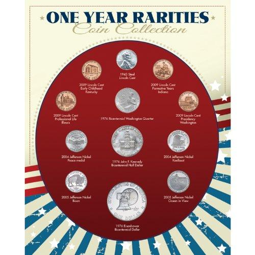Rare Coin Collection (American Coin Treasures One Year Rarities Collection)