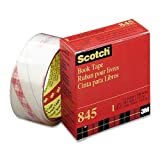 Wholesale CASE of 15 - 3M Scotch Book Tape-Book Tape, 3'' Core Size, 3'' x 15 Yards, Clear