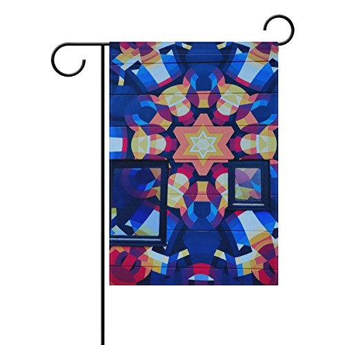 Home Decorative Outdoor Double Sided Art Pattern Mosaic Crea