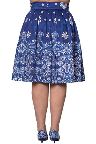 Banned - Falda - para mujer Azul