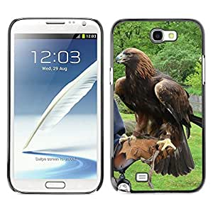 Hot Style Cell Phone PC Hard Case Cover // M00112350 Adler Bird Animal // Samsung Galaxy Note 2 II N7100