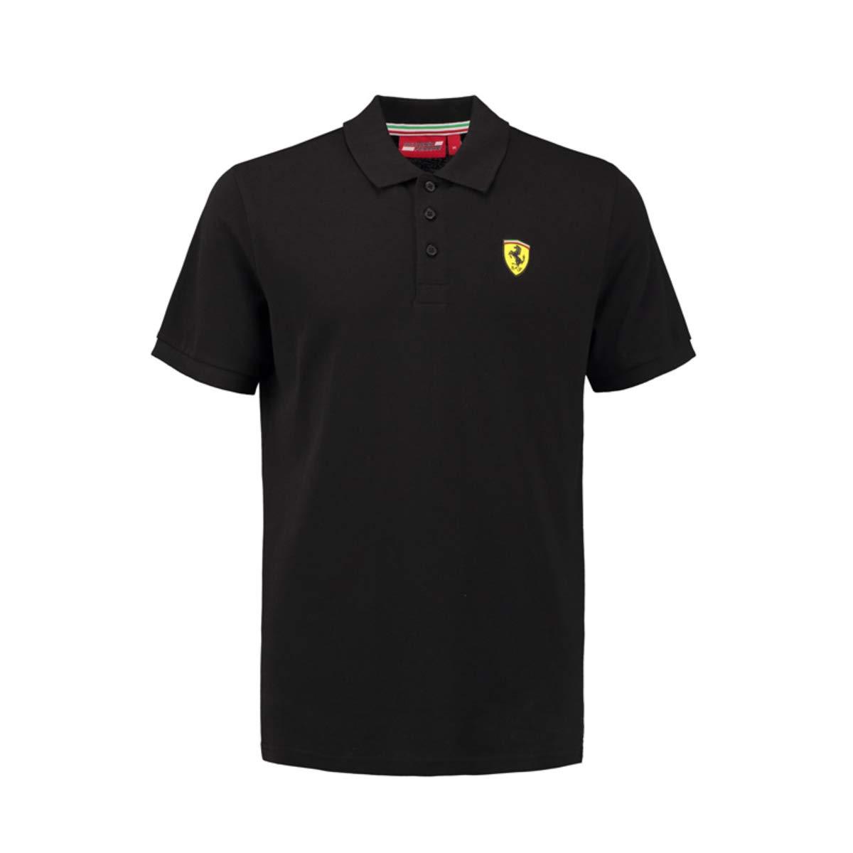 Ferrari Polo Classic pour Homme Noir Taille S