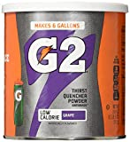 Gatorade Thirst Quencher Powder, G2 Low Calorie, Grape, 19.4 Ounce, 3 Count